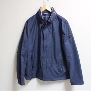 Nautica — Men's Full Zip Windbreaker Jacket Large
